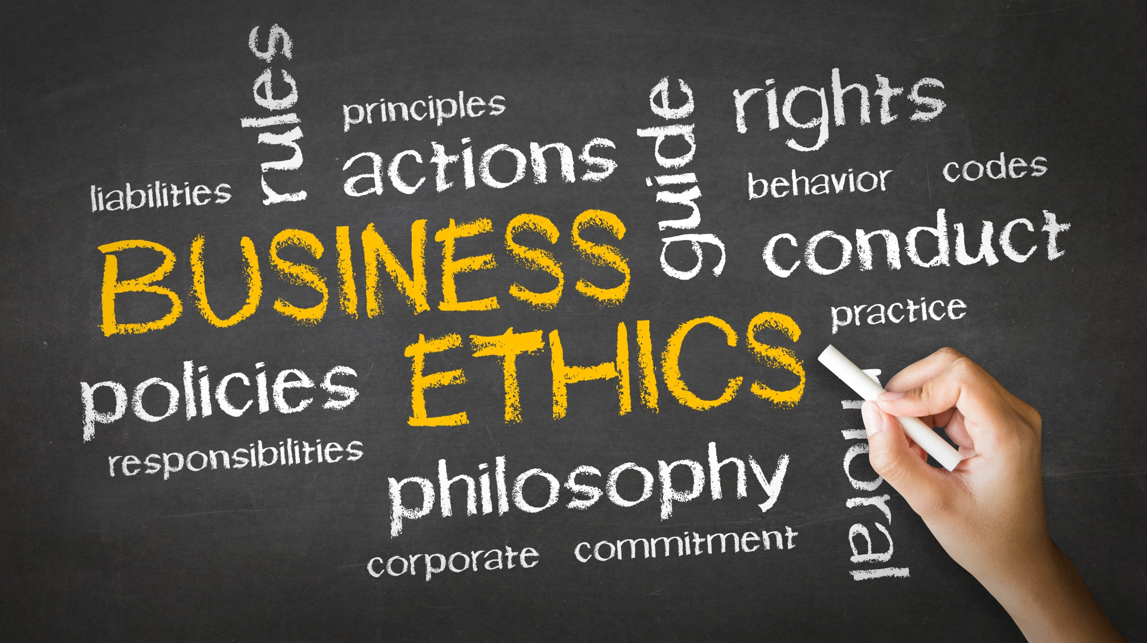 corporate governance and the importance of ethics Terry clark phd discusses the importance of corporate governance in business ethics with oc ferrell phd.